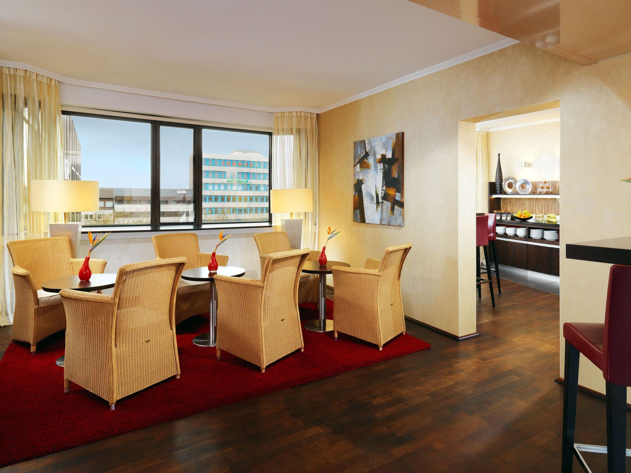 Hotel room Essen Germany - Club Lounge